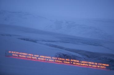 Gran Sur, 2011 Base Antártica Arturo Prat, Isla Greenwinch.